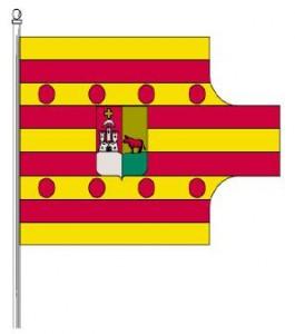 Bandera de Vall de Gallinera.